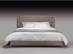 - Double bed with tufted headboard JACOPO - Casamilano