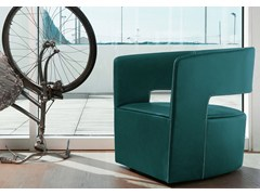 - Leather armchair JADE | Leather armchair - ITALY DREAM DESIGN - Kallisté