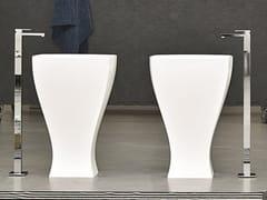 Lavabo freestanding in ceramicaJAZZ | Lavabo freestanding - ARTCERAM