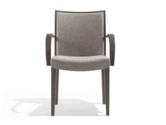 - Upholstered chair with armrests JENNY | Chair with armrests - Potocco