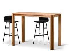- Rectangular solid wood high table JEPPE UTZON BAR TABLE #1 - dk3