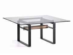 - Square crystal table JEREZ - Cattelan Italia
