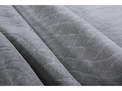 - Patterned handmade rectangular rug JERICO METALLIC - EDITION BOUGAINVILLE