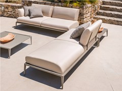 - Sectional upholstered fabric garden sofa JOINT | Sectional sofa - FAST