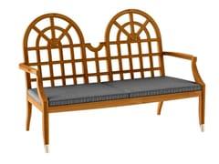 - Teak garden sofa JONQUILLE | Garden sofa - ASTELLO