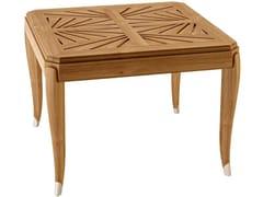 - Square teak garden table JONQUILLE | Square table - ASTELLO