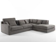 - Sectional upholstered fabric sofa JORDAN   Sectional sofa - FRIGERIO POLTRONE E DIVANI
