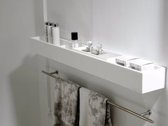 - Krion® bathroom wall shelf K | Krion® bathroom wall shelf - Systempool