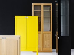 - Contemporary style glass bookcase / display cabinet KA72 | Wooden display cabinet - Karl Andersson & Söner
