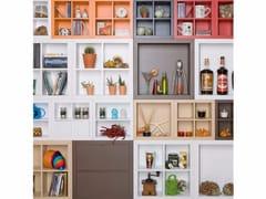 - Lacquered modular bookcase KADR | Bookcase - IFT