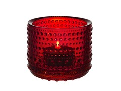 - Stained glass candle holder KASTEHELMI | Stained glass candle holder - iittala