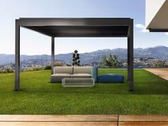 - Freestanding aluminium pergola with adjustable louvers KEDRY PLUS - KE Outdoor Design