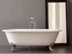Vasca da bagno in ghisa su piediKENT - BATH&BATH
