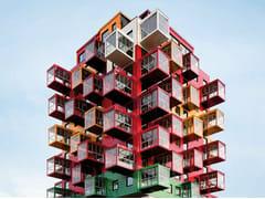 Sistema per facciata continua in materiali ceramiciKERATWIN® K20 / K18 - AGROB BUCHTAL