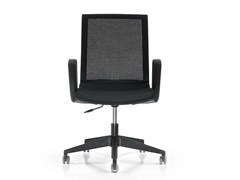 - Task chair with 5-Spoke base with casters KEY | Task chair with armrests - D.M.