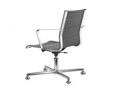 - Mesh task chair with 4-Spoke base with armrests KEYPLUS 3157 - TALIN