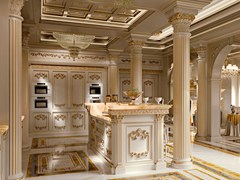 - Custom solid wood kitchen KING | Custom kitchen - Modenese Gastone group