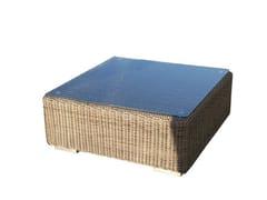 Tavolino basso da caffè (85cm)KINGSTON | Tavolino quadrato - P J BRIDGMAN & CO