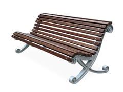 Panchina in legno con schienaleKOCHLIAS   Panchina con schienale - CITY DESIGN