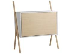 - Highboard with flap doors KOMMOD Small - kommod