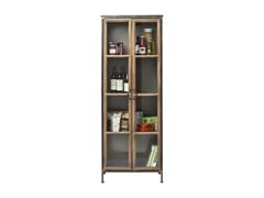 - Wood and glass display cabinet KONTOR | Wood and glass display cabinet - KARE-DESIGN
