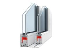 Finestra alzante scorrevole con doppio vetro in PVCKORON - ITAL-PLASTICK
