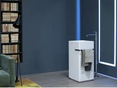- Freestanding Corian® washbasin KUBIK - Antonio Lupi Design®
