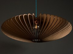- English oak pendant lamp KUHMO - Cameron Design House