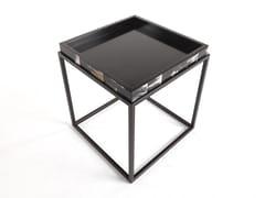 Tavolino alto quadrato con vassoioKURT - GIANFRANCO FERRÉ HOME