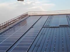 Seam clip per l'ancoraggio dei pannelli solariSistemi Solari Kalzip - KALZIP® - GRUPPO TATA STEEL