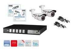 Sistema di sorveglianza e controlloKit TVCC con DVR AHD 720p 8 canali - URMET