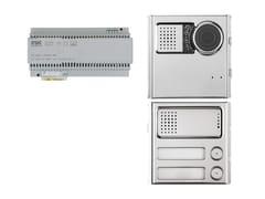 Sistema di citofonia e videocitofoniaKit base impianto 2Voice Sinthesi Steel - URMET