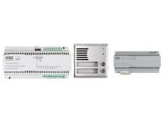 Sistema di citofonia e videocitofoniaKit colonna 2Voice - URMET