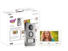 Sistema di citofonia e videocitofoniaKit videocitofonico Mini Note+ - URMET