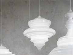 - Blown glass pendant lamp LA SCALA - Lasvit