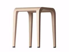 - Wooden stool LALEGGERA STOOL - 310 - Alias