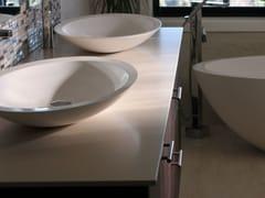 - Piano lavabo in Lapitec® LAPITEC®   Piano lavabo - Lapitec
