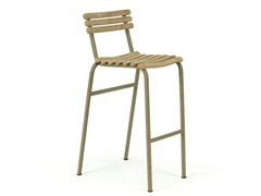 - Counter stool with footrest LAREN | Counter stool - Ethimo