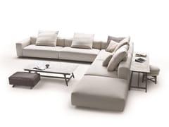 - Corner sectional sofa with removable cover LARIO 2016 | Corner sofa - FLEXFORM