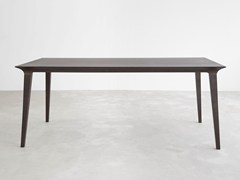 - Rectangular wooden dining table LAU | Rectangular table - STUA