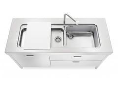 Cucina / lavello in acciaioLAVAGGIO 160 | Lavello - ALPES-INOX