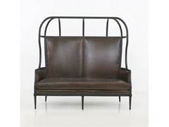 - 2 seater fabric sofa LAVAL CROWN CHAIR WITH OPENED ROOF - STELLAR WORKS