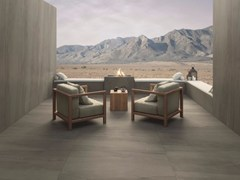 - Outdoor porcelain stoneware wall/floor tiles with stone effect LAVICA DARK | Outdoor wall/floor tiles - FMG Fabbrica Marmi e Graniti