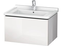 - Wall-mounted vanity unit with drawers LC 6164 | Vanity unit - DURAVIT