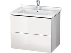 - Wall-mounted vanity unit with drawers LC 6264 | Vanity unit with drawers - DURAVIT
