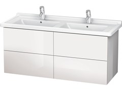 - Wall-mounted vanity unit with drawers LC 6269 | Double vanity unit - DURAVIT