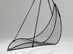 Seduta sospesa a 1 posto in acciaio verniciato a polvereLEAF   Seduta sospesa - STUDIO STIRLING