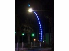 Lampione stradale a LED in ottonePUNTO LUMINOSO - CASCADE