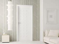 - Lacquered solid wood door LEGNI & LACCHE - LEGNOFORM
