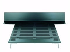 - Aluminium and wood double bed LEGNOLETTO 180 - LL8_180 - Alias